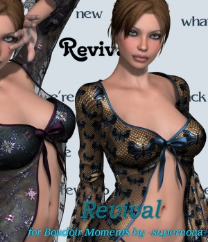 Revival for Boudoir Moments 3D Figure Assets JudibugDesigns