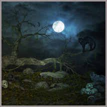 Witching Hour - Backgrounds and poses - G3F-G8F-V8 image 3