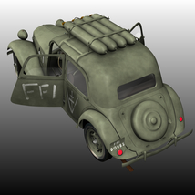 CITROEN TRACTION FFI - Extended License   image 1