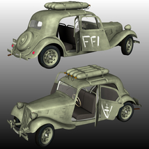 CITROEN TRACTION FFI - Extended License   image 2