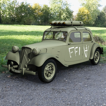 CITROEN TRACTION FFI - Extended License   image 3
