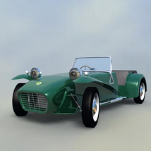 LOTUS SEVEN SERIE 2 - Extended License image 1
