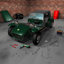LOTUS SEVEN SERIE 2 - Extended License image 4