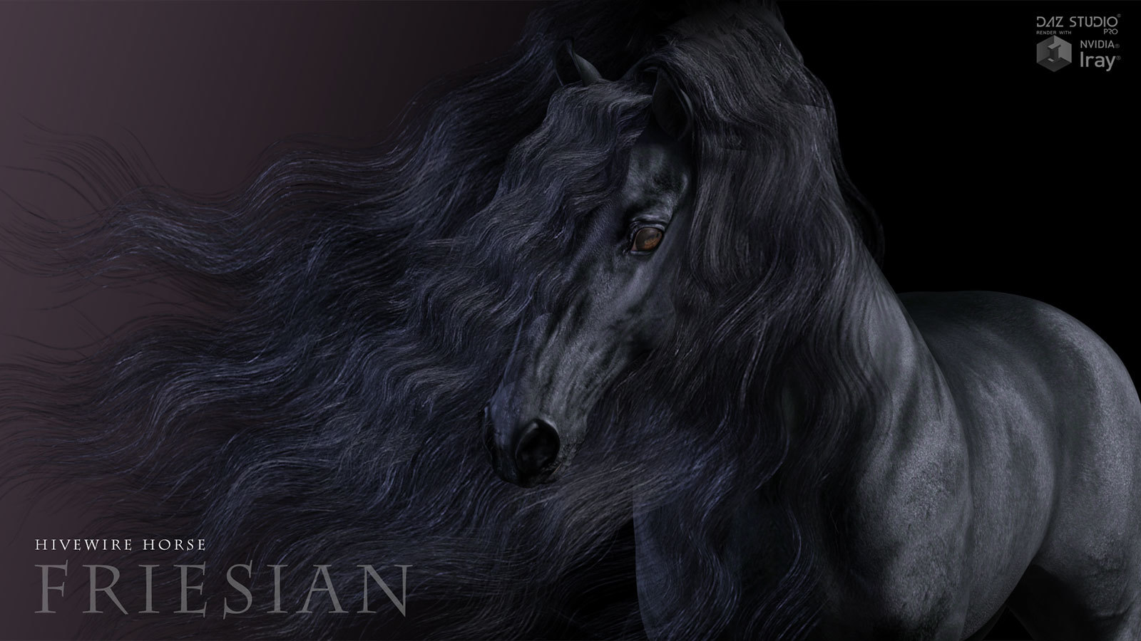 HiveWire Friesian by HiveWire3D