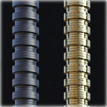 PROTOTYPE-X - SciFi Tubes and Flanges MR image 3
