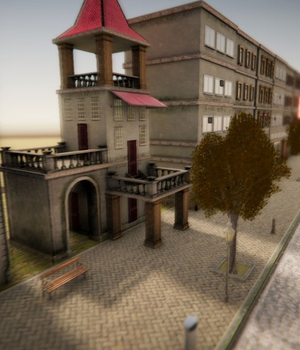 Small City 3 - Extended License 3D Game Models : OBJ : FBX 3D Models Extended Licenses dexsoft-games