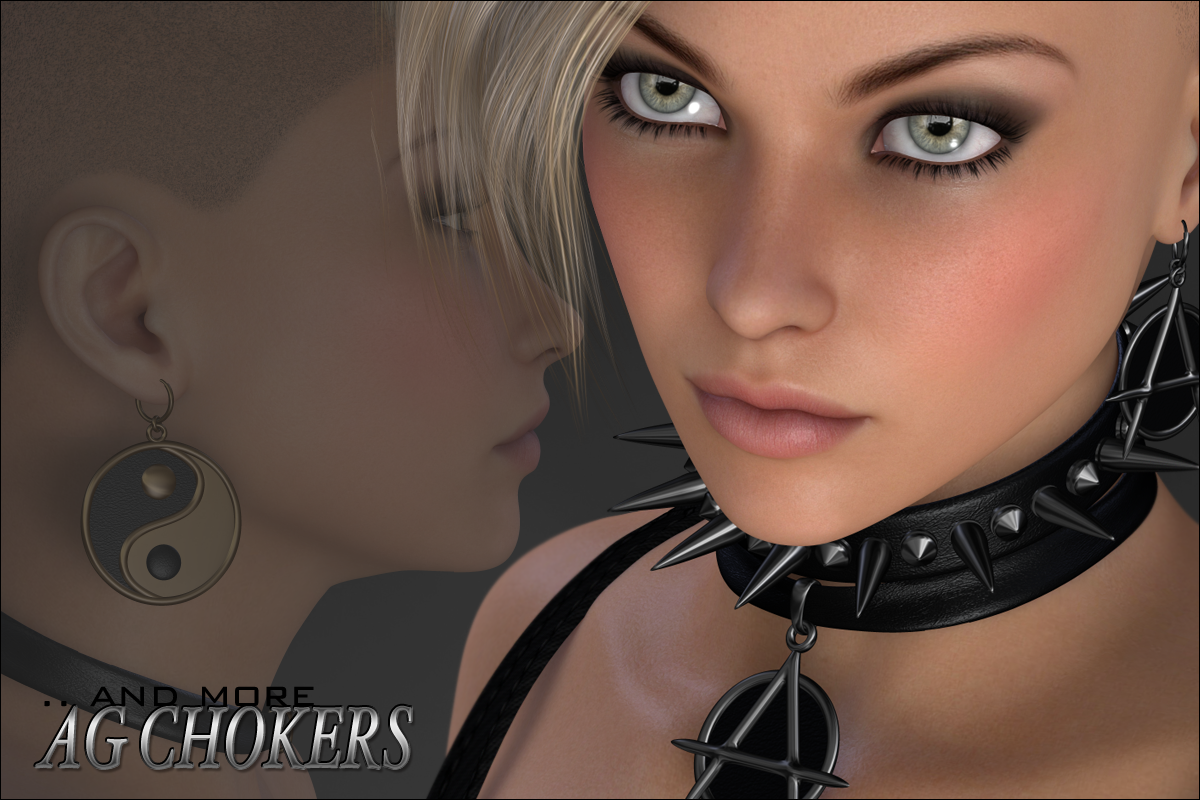 Alchemy Goth - Chokers and More by digiPixel