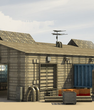 SF Industrial Colony - Extended License 3D Game Models : OBJ : FBX 3D Models Extended Licenses dexsoft-games