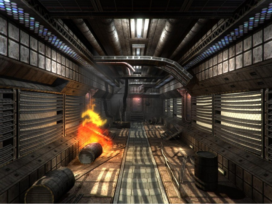 SF Dirty Corridors - Extended License by dexsoft-games