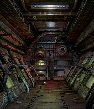 SF Dirty Corridors 2 - Extended License 3D Game Models : OBJ : FBX 3D Models Extended Licenses dexsoft-games