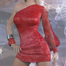 Belladonna Outfit for Genesis 3 Females image 1