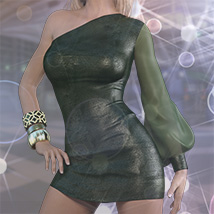 Belladonna Outfit for Genesis 3 Females image 3