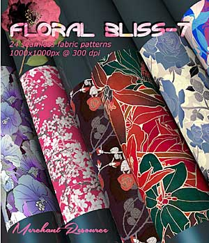 FLORAL BLISS-7 2D Graphics Merchant Resources RajRaja