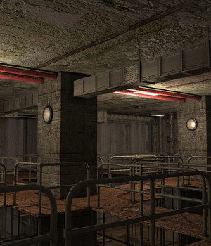 Sewers Model Pack 2 - Extended License 3D Game Models : OBJ : FBX 3D Models Extended Licenses dexsoft-games