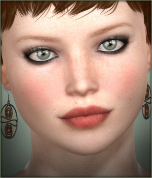 Celtic Earrings V4 3D Figure Assets -Wolfie-