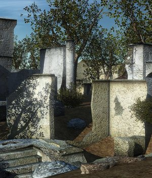 Ruins - Extended License 3D Game Models : OBJ : FBX 3D Models Extended Licenses dexsoft-games