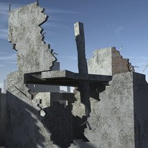 Ruined Buildings - Extended License image 1