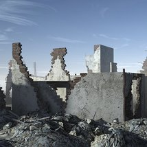 Ruined Buildings - Extended License image 2