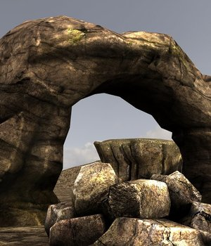 Rocks - Extended License 3D Game Models : OBJ : FBX 3D Models Extended Licenses dexsoft-games
