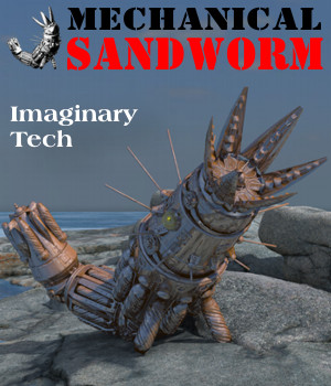 Mechanical Sandworm 3D Models Michael_C