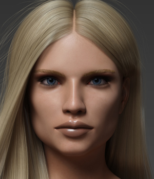 Mariah G8F 3D Figure Assets Anagord