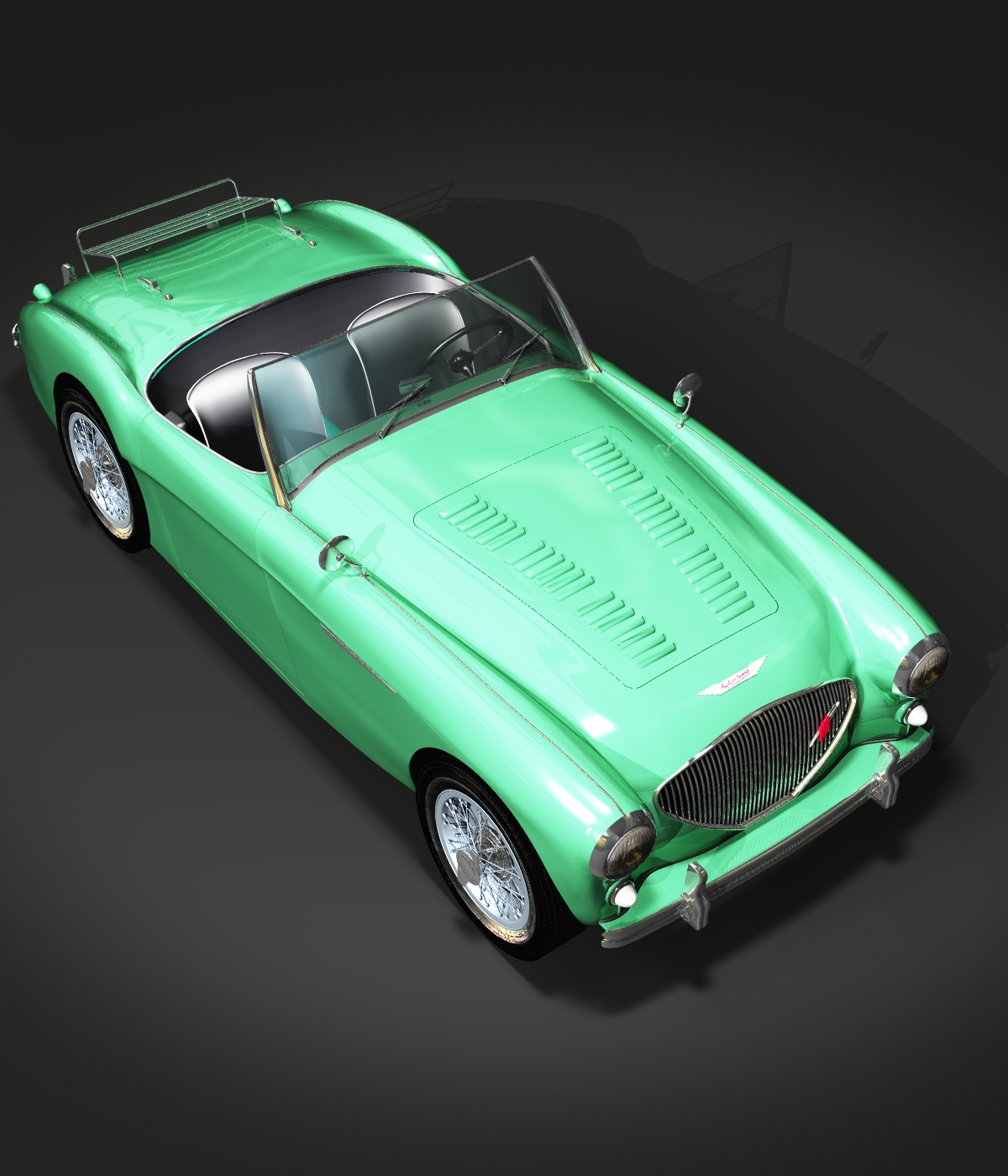 AUSTIN HEALEY 100 - for VUE