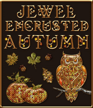 Jewel Encrusted Autumn PS Layer Styles  2D Graphics Merchant Resources fractalartist01