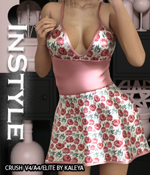 InStyle - Crush V4/A4/Elite 3D Figure Assets -Valkyrie-