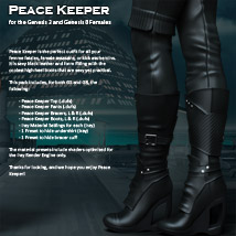 Peace Keeper for G3F and G8F image 1