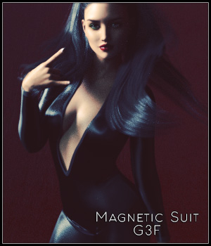Magnetic Suit G3F 3D Figure Assets SynfulMindz