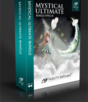 Mystical Ultimate Bundle Gen2 - Over 100 Photo Enhancement Software Effects 2D Sofware and Utilities AUTOFXPHOTO