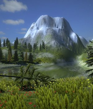 Mountain Vegetation - Extended License 3D Game Models : OBJ : FBX 3D Models Extended Licenses dexsoft-games