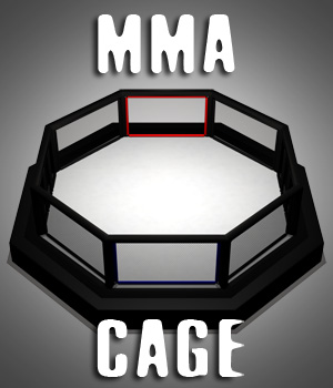 MMA Cage 3D Models gmm2