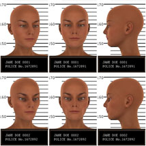Psycho Faces for Genesis 3 Female image 1