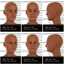Psycho Faces for Genesis 3 Female image 2