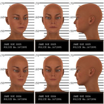 Psycho Faces for Genesis 3 Female image 3
