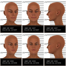Psycho Faces for Genesis 3 Female image 4