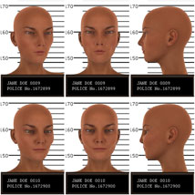 Psycho Faces for Genesis 3 Female image 5