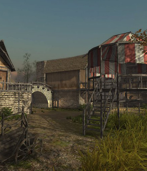 Medieval Village 3 - Extended License 3D Game Models : OBJ : FBX 3D Models Extended Licenses dexsoft-games