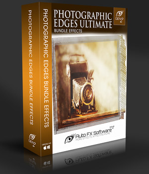PhotoGraphic Edges Gen2 - Contains Over 10,000 Photo Edges, Borders & Frames 2D Sofware and Utilities AUTOFXPHOTO
