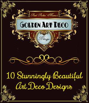 Pixel Packin Mamas Art Deco Golden Blings Set 1 2D Graphics Merchant Resources pixelpackinmama