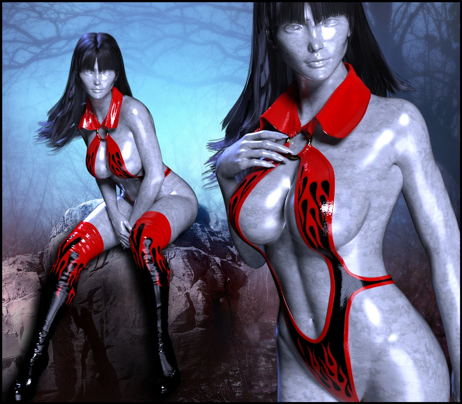 Epic: Vamps for Genesis 3 Females