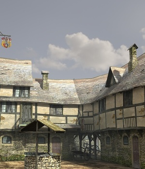 Medieval Slum 2 - Extended License 3D Game Models : OBJ : FBX 3D Models Extended Licenses dexsoft-games