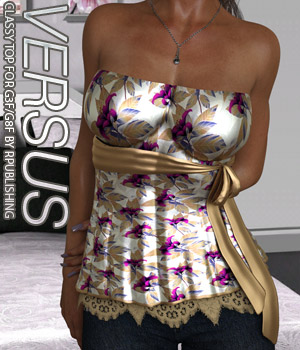 VERSUS - Classy Top for G3F and G8F  3D Figure Assets Anagord