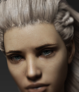 Eyes and Eyebrows Morphs G8 Vol2 3D Figure Assets Merchant Resources Anagord