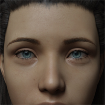 Eyes and Eyebrows Morphs G8 Vol2 image 1
