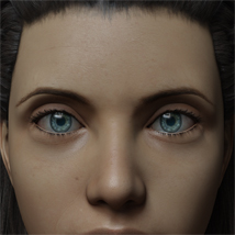 Eyes and Eyebrows Morphs G8 Vol2 image 2