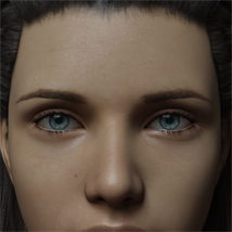 Eyes and Eyebrows Morphs G8 Vol2 image 3