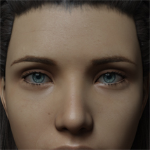 Eyes and Eyebrows Morphs G8 Vol2 image 4