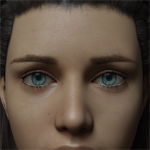 Eyes and Eyebrows Morphs G8 Vol2 image 9